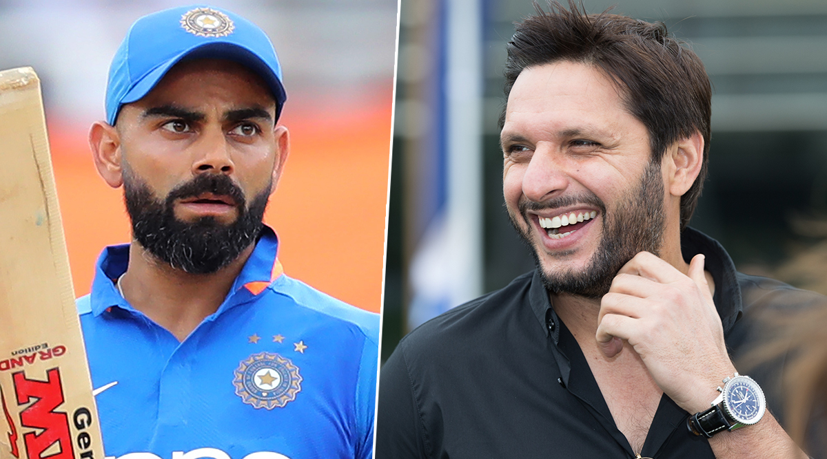 Shahid Afridi Calls Virat Kohli a 'Great Player' After Indian Batsman Becomes The Highest Run-Scorer in T20Is
