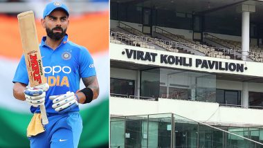 Virat Kohli Pavilion Photos OUT! See New Look of Arun Jaitley Stadium in Feroz Shah Kotla