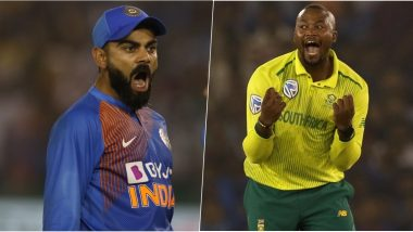 India vs South Africa 3rd T20I 2019: Virat Kohli vs Andile Phehlukwayo, Shikhar Dhawan vs Kagiso Rabada & Other Mini Battles to Watch Out for in Bengaluru
