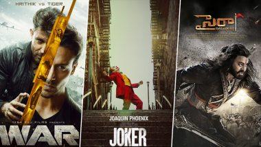 Joaquin Phoenix's Joker to Release in India on October 2; To Take on Hrtihik Roshan's War and Chiranjeevi's Sye Raa Narasimha Reddy on Gandhi Jayanti