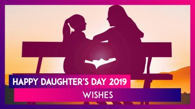 Happy Daughter's Day 2019 Wishes: Quotes, WhatsApp Messages and SMS to Send Daughter's Day Greetings