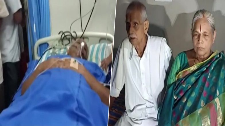 World's Oldest Parents From Andhra Pradesh Hospitalised! Husband Suffers Heart Attack and Wife Admitted in ICU