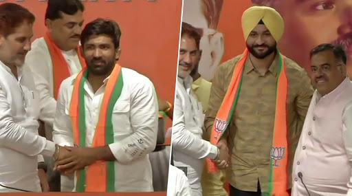 Haryana Assembly Elections 2019: Former Indian Hockey Team Captain Sandeep Singh, Wrestler Yogeshwar Dutt Join BJP