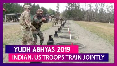 Yudh Abhyas 2019: Indian, US Troops Train Jointly In Washington