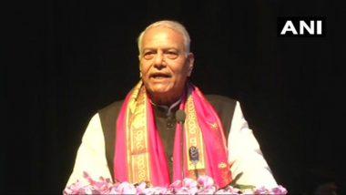 Yashwant Sinha Restricted to Exit Srinagar Airport, Returns to Delhi