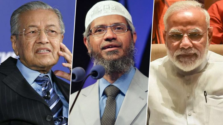 Narendra Modi Didn't Ask Me to Extradite Zakir Naik, Says Malaysian PM Mahathir Mohamad