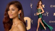 Emmys 2019: Zendaya's Custom Vera Wang Green Gown At The Red Carpet Is Making Us Super Euphoric! View Pics