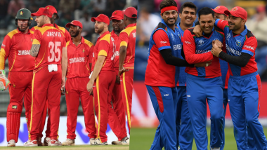 Live Cricket Streaming of Zimbabwe vs Afghanistan 5th T20I on Hotstar & Gazi TV: Check Live Cricket Score Online, Watch Free Telecast of ZIM vs AFG Tri-Nation Series 2019 Match on Star Sports