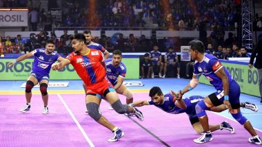 PKL 2019 Match Results: UP Yoddhas Down Haryana Steelers 30–37 in Their Own Backyard