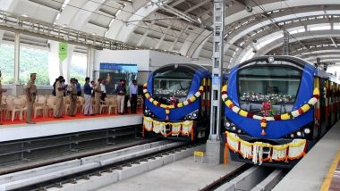 Chennai Metro Plans to Introduce Onboard Entertainment; Commuters Soon Will Be Able to Watch Films, Songs and TV Shows