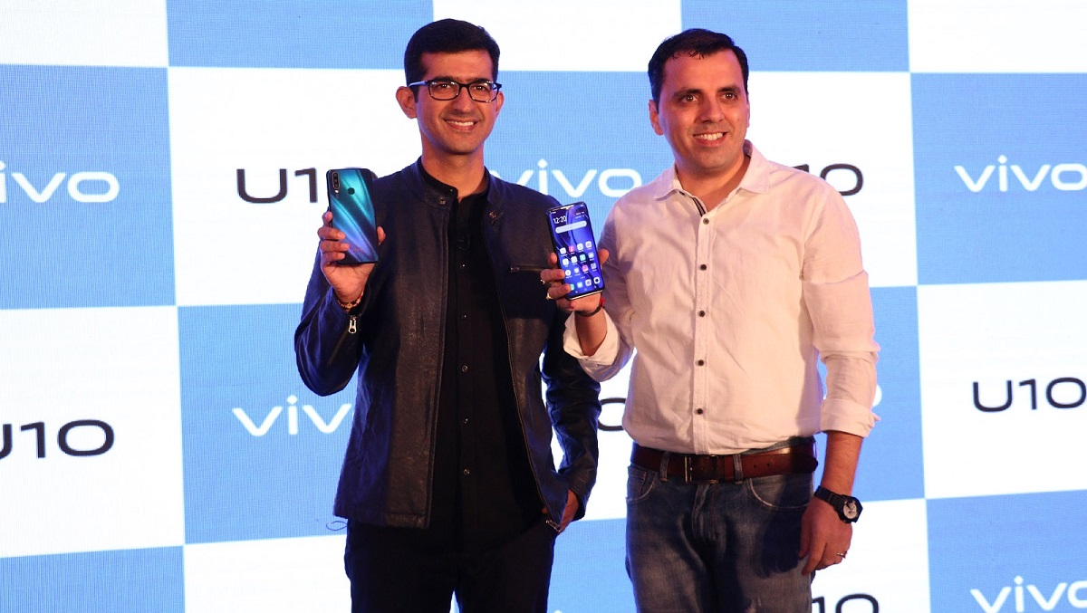 Vivo U10 Smartphone Launched in India at Rs 8990