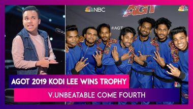 America's Got Talent 2019:  Kodi Lee Bags The Trophy, Mumbai's V.Unbeatable Come In Fourth