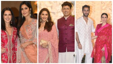 Ganesh Chaturthi 2019 at Ambani's House: Katrina Kaif, Madhuri Dixit, Karisma Kapoor Grace the Festivities (See Pics)