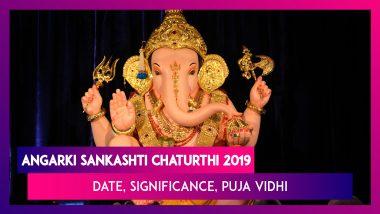 Angarki Sankashti Chaturthi 2019: Date, Significance, Puja Vidhi Of Vrat Dedicated To Lord Ganesh