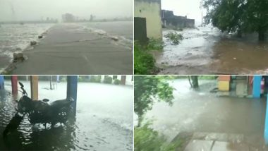 Monsoon 2019: In Rajasthan, Pratapgarh, Kota Witness Flood-Like Situation Due to Incessant Rainfall; IMD Predicts Heavy Showers in Gujarat, Madhya Pradesh