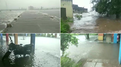 Monsoon 2019: In Rajasthan, Pratapgarh, Kota Witness Flood-Like Situation Due to Incessant Rainfall; IMD Predicts Heavy Showers in Gujarat, Madhya Pradesh