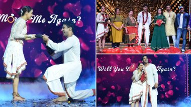 Nach Baliye 9: Anita Hassanandani and Rohit Reddy Remarry On The Stage! (View Pics)