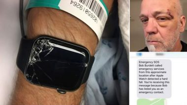 Apple Watch Detects Fall, Autodials 911, Helps EMS & Family to Locate US Mountain Biker Who Lay Unconscious After Terrible Accident (View Viral Pics)