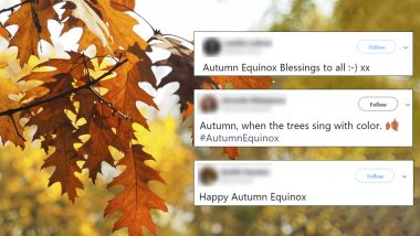 Happy Autumnal Equinox 2019: Twitterati Share Autumn Quotes, Greetings and Images As the First Day of Fall on September 23 Begins
