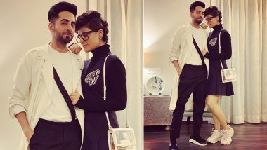 Ayushmann Khurrana Calls Wife Tahira Kashyap His Dream Girl As They Pose Together (View Pic)