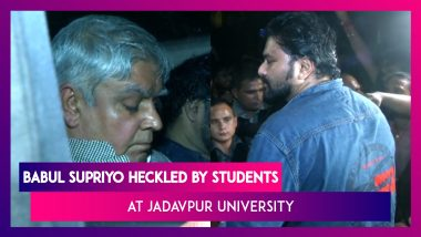 Babul Supriyo Heckled By Students At Jadavpur University, West Bengal Governor Rushes To Rescue