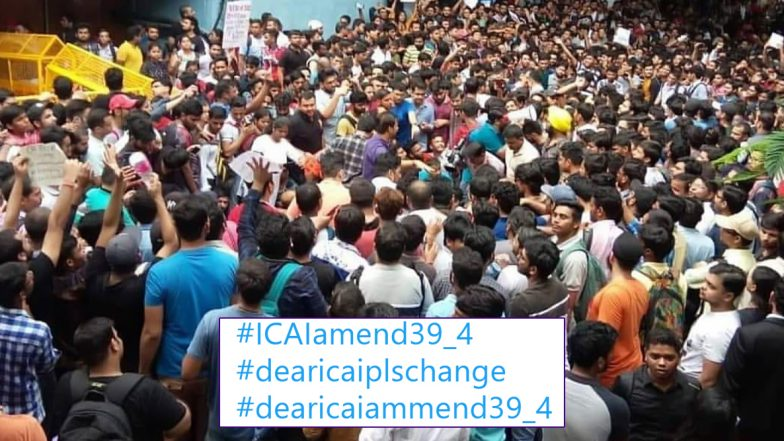 ICAI Exam Reforms: CA Students Continue to Protest Asking the Conducting Body to Amend Regulation 39 (4), Here Is the List of Changes They Demand