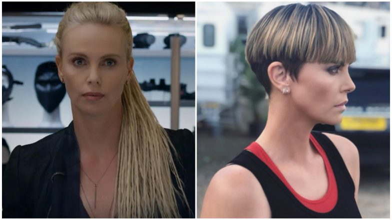 Charlize Theron debuts new Fast And Furious look