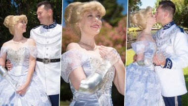 Cinderella With a Glass Arm! Californian Woman Creates the Iconic Fairy Tale to Inspire Amputees Who Wear Prosthetics (View Viral Pics)