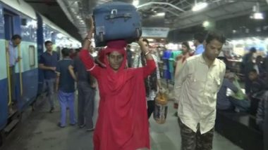 Meet Lakshmi, the Woman Coolie, At Bhopal's Railway Station