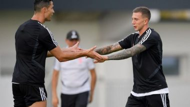 Cristiano Ronaldo Fit for Game Against SPAL? Juventus Forward Spotted Sweating it Out in The Nets Ahead of Serie A 2019 Tie (See Pics & Videos)