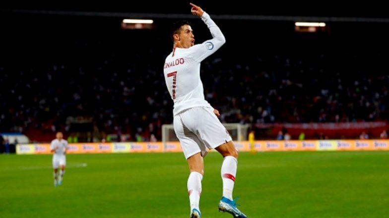 Euro 2020 qualifying: Cristiano Ronaldo scores four goals as Portugal cruises