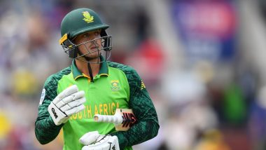 IND vs SA 3rd T20I 2019 Stat Highlights: Quinton de Kock & Kagiso Rabada Help Visitors Secure Nine-Wicket Win & Draw Series on 1-1