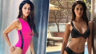 Disha Patani Shows Off Her Hot Curvaceous Body in Calvin Klein Swimwears (View Pics)
