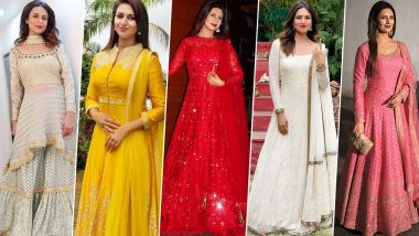 Ganesh Chaturthi 2019: Let Divyanka Tripathi Dahiya Teach You How to Look Graceful and Chic During Ganeshotsav (View Pics)