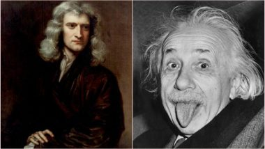 Albert Einstein or Sir Isaac Newton, Who Discovered Gravity? Netizens Question Piyush Goyal's Statement on Maths & Economy With Funny Tweets & Memes