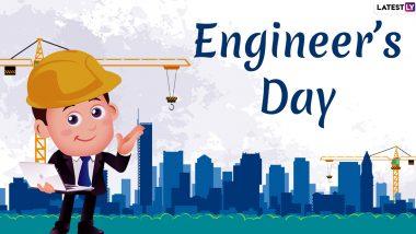 Happy Engineer's Day 2019! Twitterati Celebrate Bharat Ratna Mokshagundam Visvesvaraya's Birthday With Inspirational Quotes & Messages