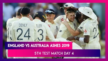Ashes 2019 5th Test, Day 4 Stat Highlights: England Level Series But Lose Urn to Australia