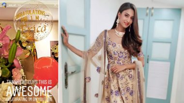 Erica Fernandes' YouTube Channel Hits The 1 Million Mark, Kasautii Zindagii Kay 2 Actress' Fans Surprise Her!