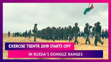 Exercise TSENTR 2019 Starts Off With Spectacular Display Of Military Drill In Russia's Donguz Ranges