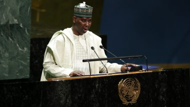 UNSC Elections 2020 to Be Held on June 17 Under New Voting Arrangements Due to COVID-19, Says UNGA President Tijjani Muhammad-Bande