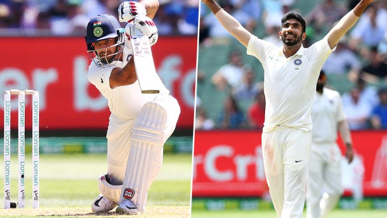 India vs West Indies, 2nd Test 2019: Jasprit Bumrah's Hat-Trick and Hanuma Vihari's Ton Take India to Commanding Position on Day 2
