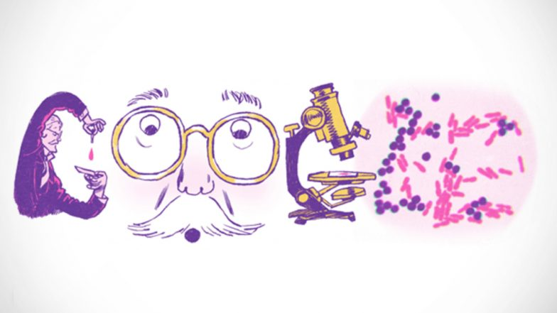 Hans Christian Gram's Google Doodle: Search Engine Giant Honours Danish Microbiologist on His 166th Birth Anniversary
