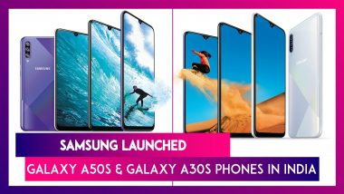 Samsung Galaxy A50s, Galaxy A30s Phones Launched; India Prices, Features, Variants & Specifications