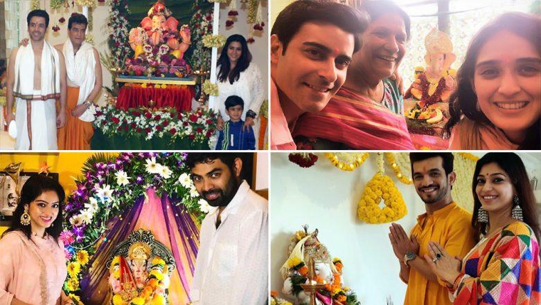 Ganesh Chaturthi 2019: Arjun Bijlani, Gautam Rode, Ekta Kapoor, Deepika Singh and Other Telly Stars Welcome Ganpati Bappa Home (View Pics)