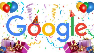 Google Turns 21 Today: Twitterati Thanks the Search Giant for Always Being the 'Go-to' to Access Quick Information, Check Tweets