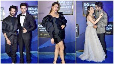GQ Men of the Year Awards 2019 Red Carpet: Hrithik Roshan, Shahid Kapoor, Sara Ali Khan, Radhika Madan, Abhimanyu Dassani Step out in Style (See Pics)