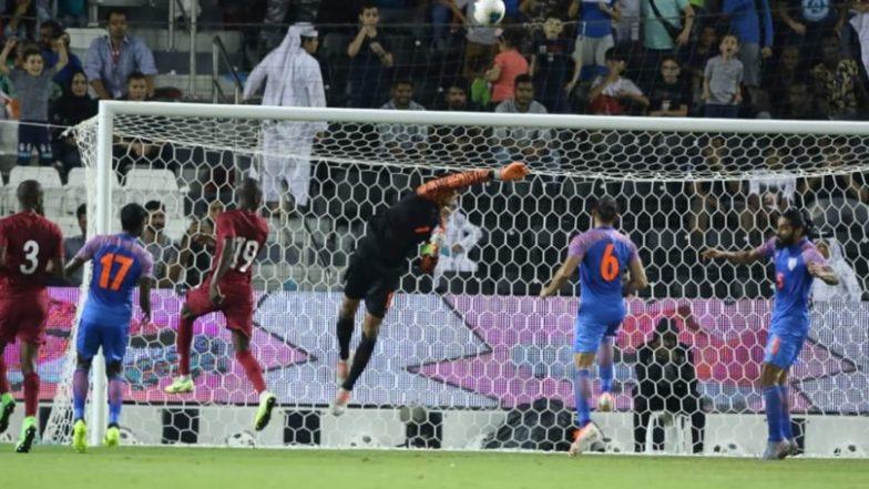 Sunil Chhetri-Less Indian Football Team Script a Historic Draw Against Qatar in FIFA World Cup 2022 Asian Qualifiers; Netizens Laud Goalkeeper Gurpreet Singh Sandhu!