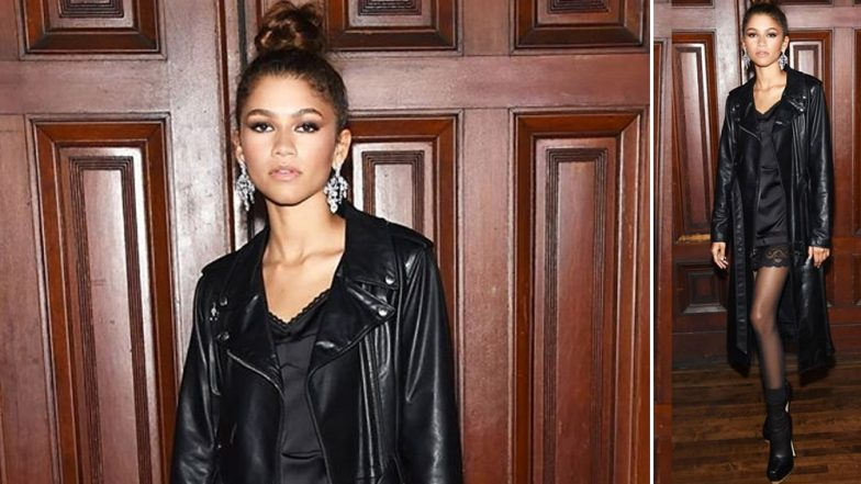 Yo or Hell No? Zendaya in Marc Jacobs at New York Fashion Week 2019