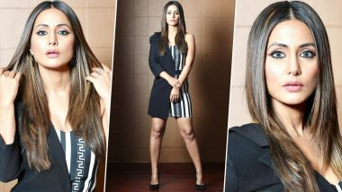 Hina Khan Is Redefining Fusion and Edgy Fashion With Her Latest Instagram Post (View Pics)