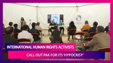 International Human Rights Activists Slam Pakistan For Its 'Hypocritical Stand' On Jammu & Kashmir